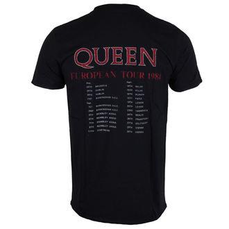 tričko pánské Queen - European Tour 1984 - ROCK OFF