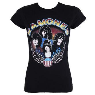 tričko dámské Ramones - Vintage Wings - ROCK OFF, ROCK OFF, Ramones