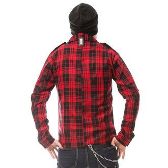 košile pánská VIXXSIN - DOWN TOWN - RED, VIXXSIN