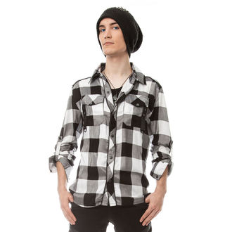 košile pánská VIXXSIN - LEFT FIELD - WHITE - POI269