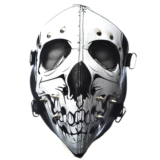 maska POIZEN INDUSTRIES - SKULL FACE - BLACK, POIZEN INDUSTRIES