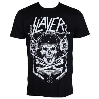 tričko pánské Slayer - Skull & Bones - ROCK OFF, ROCK OFF, Slayer