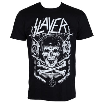 tričko pánské Slayer - Skull & Bones - ROCK OFF - SLAYTEE36MB