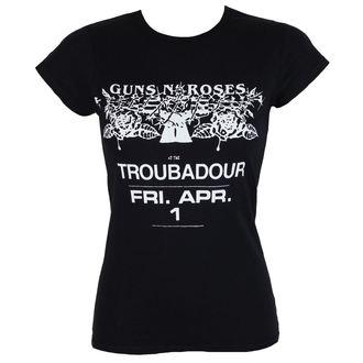 tričko dámské Guns N' Roses - Troubadour - ROCK OFF - GNRTS29LB