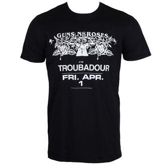 tričko pánské Guns N' Roses - Troubadour - ROCK OFF, ROCK OFF, Guns N' Roses