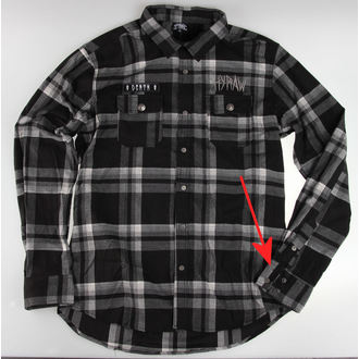 košile pánská HYRAW - Death - POŠKOZENÁ - N654