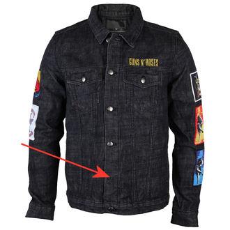 bunda pánská Guns N' Roses - Classic - Denim - BRAVADO - POŠKOZENÁ, BRAVADO, Guns N' Roses