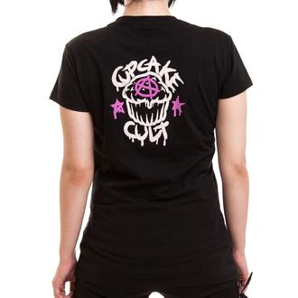 tričko dámské Cupcake Cult - LOST LOVE - Black, CUPCAKE CULT
