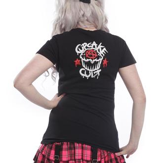 tričko dámské Cupcake cult - TRIGGER Black, CUPCAKE CULT