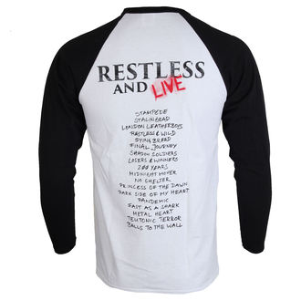 tričko pánské s dlouhým rukávem ACCEPT - Restless and live - NUCLEAR BLAST, NUCLEAR BLAST, Accept