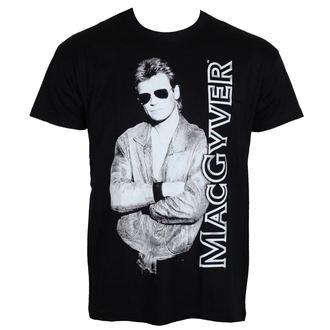 tričko pánské Cool MacGyver - Black - HYBRIS, HYBRIS