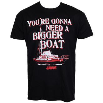 tričko pánské Čelisti - Bigger Boat - Black - HYBRIS, HYBRIS