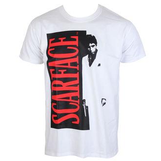 tričko pánské Scarface - White - HYBRIS - UV-1-SF003-H41-3-WH