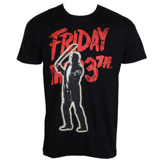 tričko pánské Friday The 13th - Jason Voorhees - Black - Hybris