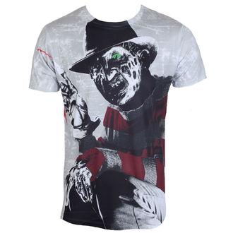 tričko pánské Noční můra z Elm Street - Freddy Krueger - Allover - HYBRIS - WB-1-FVSJ001-SUB