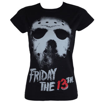 tričko dámské Friday The 13th - Black - HYBRIS - WB-5-F13TH006-H63-7-BK