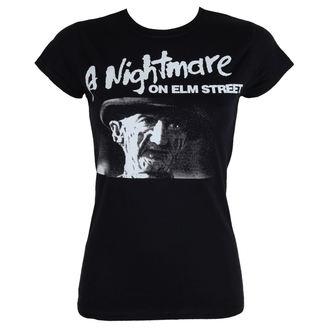 tričko dámské Noční můra z Elm Street - Black - HYBRIS - WB-5-NOES001-H65-7-BK