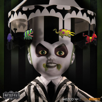 figurka Beetlejuice - Living Dead Dolls Doll - Showtime