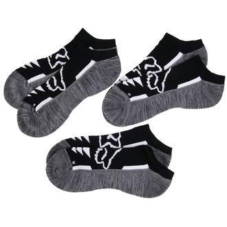 ponožky kotníkové FOX - Perf No Show - Black, FOX