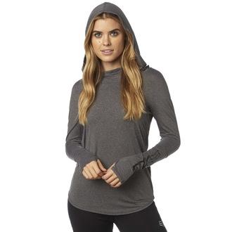 tričko dámské s dlouhým rukávem (mikina) FOX - Contoured - HeatherGrey