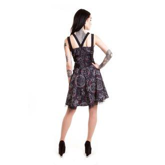 šaty dámské HEARTLESS - MYSTIC GALAXY - BLACK