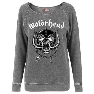 mikina dámská Motörhead - Logo Burnout Open Edge - URBAN CLASSICS, URBAN CLASSICS, Motörhead