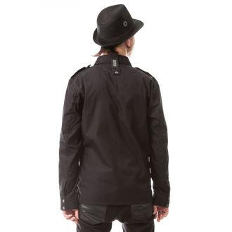 košile pánská Vixxsin - TORN - BLACK, VIXXSIN