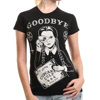 tričko dámské CUPCAKE CULT -  WEDNESDAY - BLACK, CUPCAKE CULT