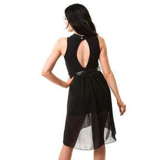 šaty dámské Vixxsin - DEAD MOON - BLACK - POI335