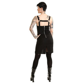 šaty dámské HEARTLESS - EVENTIDE - BLACK