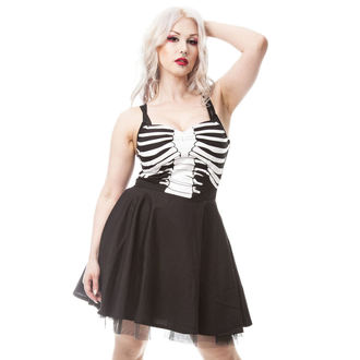 šaty dámské VIXXSIN - GHOST TOWN - BLACK - POI328
