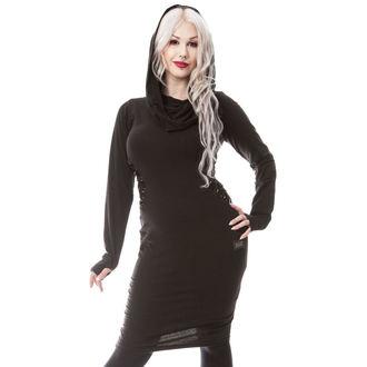 šaty dámské VIXXSIN - LUNACY - BLACK - POI331