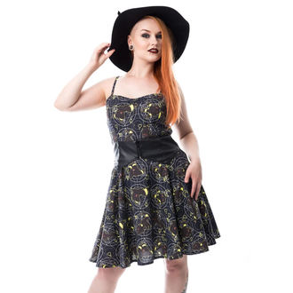 šaty dámské CUPCAKE CULT - MOON FOX - BLACK, CUPCAKE CULT