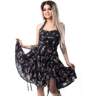 šaty dámské CUPCAKE CULT - VOODOO DRAGON - BLACK - POI327