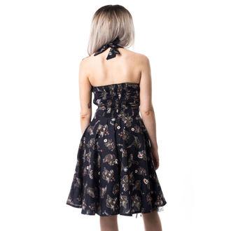 šaty dámské CUPCAKE CULT - VOODOO DRAGON - BLACK, CUPCAKE CULT