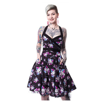 šaty dámské SUICIDE SQUAD - HARLEY SQUAD - BLACK - POI358