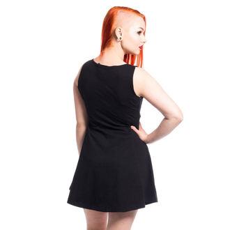 šaty dámské CUPCAKE CULT - KITTY - BLACK, CUPCAKE CULT
