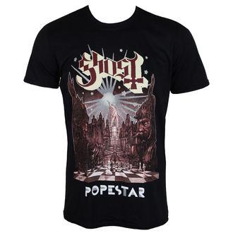 tričko pánské GHOST - POPESTAR - PLASTIC HEAD, PLASTIC HEAD, Ghost