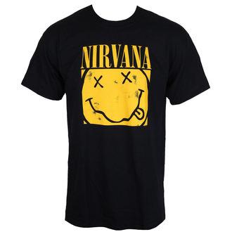 tričko pánské NIRVANA - BOX SMILEY - PLASTIC HEAD, PLASTIC HEAD, Nirvana