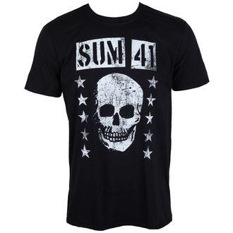 tričko pánské SUM 41 - GRINNING SKULL - PLASTIC HEAD, PLASTIC HEAD, Sum 41