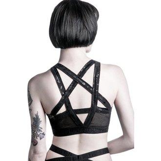 sportovní podprsenka dámská KILLSTAR - Curse Tina - Black, KILLSTAR