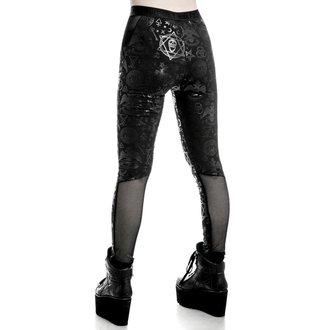 kalhoty dámské (legíny) KILLSTAR - Ruthless Taste It - Black
