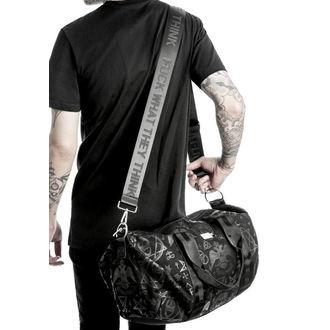 taška (cestovní) KILLSTAR - Resurrection Duffle - Black, KILLSTAR