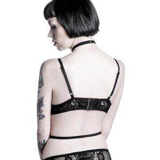 podprsenka KILLSTAR - Bella Morte Parisian -  Black