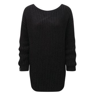 svetr dámský KILLSTAR - Sinthya Knit - Black - K-KNT-F-2342