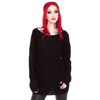 svetr dámský KILLSTAR - Sinthya Knit - Black, KILLSTAR