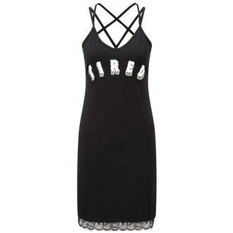 šaty dámské KILLSTAR - Tired 90's - Black - K-DRS-F-2345