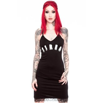 šaty dámské KILLSTAR - Tired 90's - Black, KILLSTAR