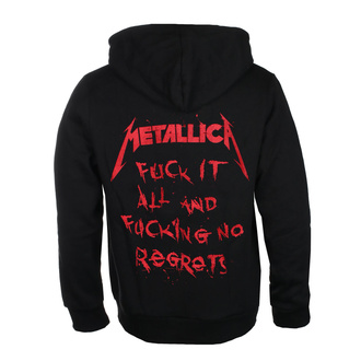 mikina pánská Metallica - No Regrets - Black - RTMTLZHBREG