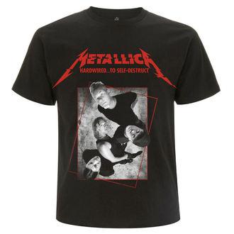tričko pánské Metallica - Hardwired Band Concrete - Black